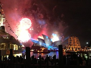 NYE Sydney Harbor