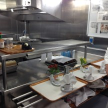 Room Service Station in Kitchen