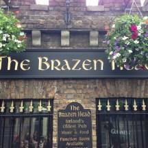 Ireland's oldest pub - The Brazen Head
