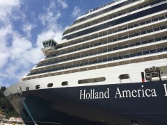 Nieuw Amsterdam in Katakolon