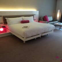 Junior Suite Bed at the Morrison