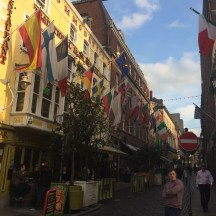 Fleet Street in the Temple Bar District