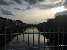 The River Liffey at Dusk