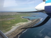 Flying over Inishmore