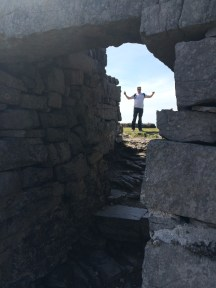 Me at Dun Aonghasa