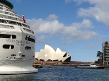 Opera House and Voyager of the Seas
