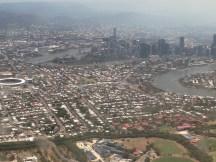 Descending into Brisbane
