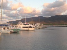 Marina in Cairns