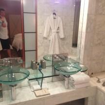 Bathroom at Park Hyatt Melbourne