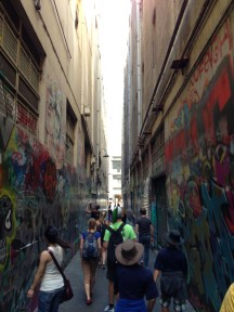 A laneway in Melbourne