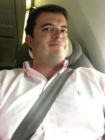 Selfie from UA Global First Class!