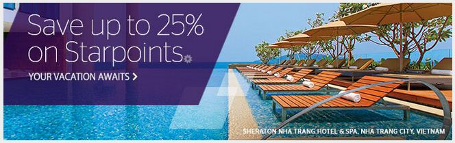 But starpoints for cheap from spg