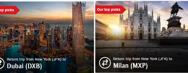 emirates flight deals