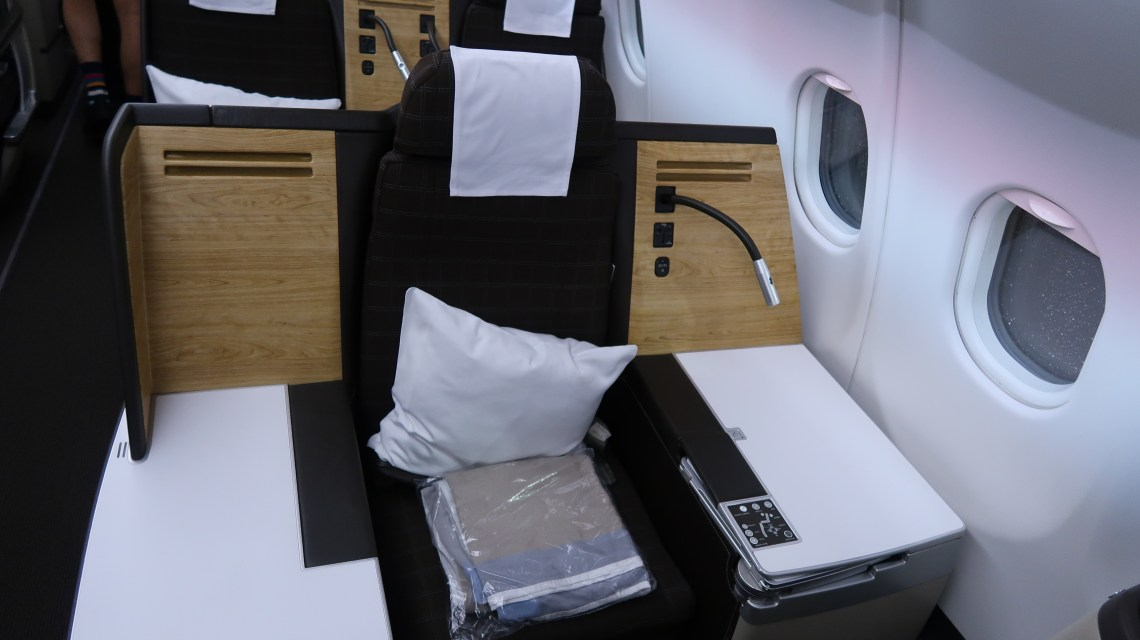 Swiss Air A330 Business Class