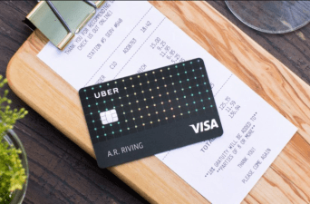 uber visa credit card