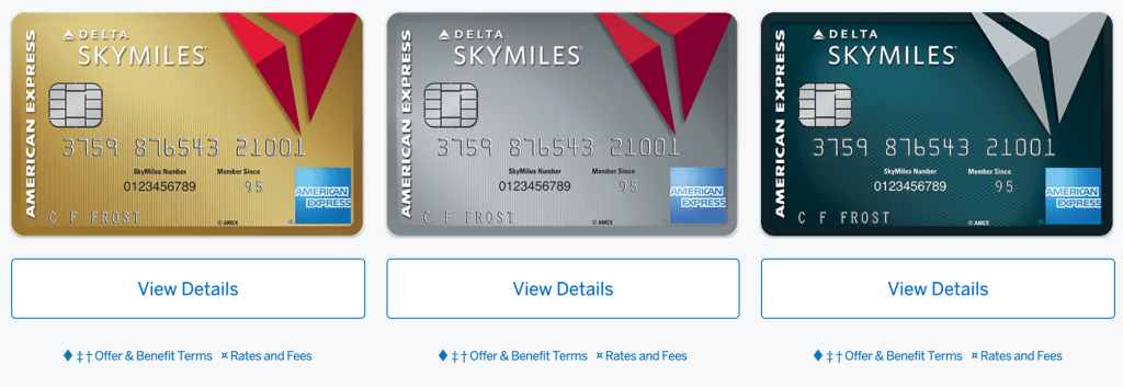 Increased Sign Up Bonus on the Delta Amex Credit Cards