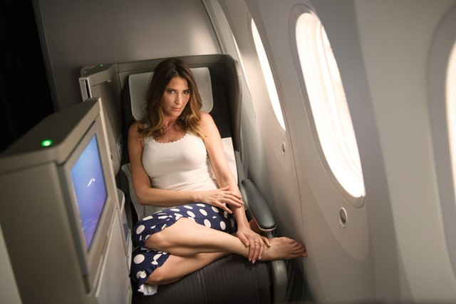 British Airways Club World on a Boeing 787 Dreamliner