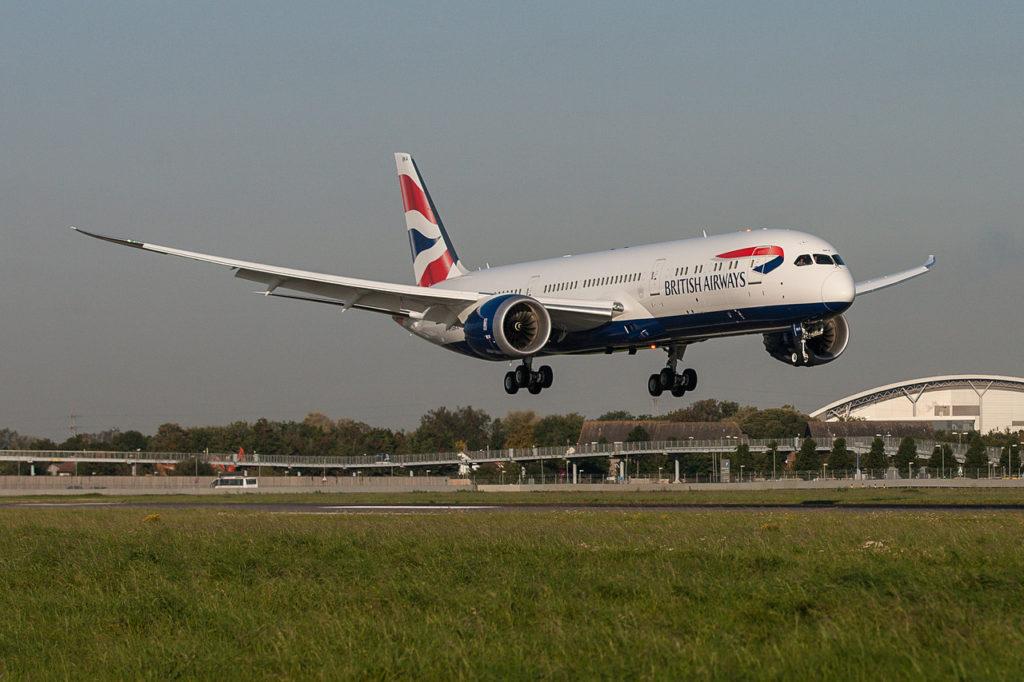 British Airways Boeing 787-900 Dreamliner