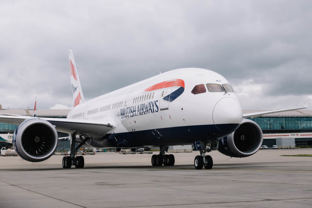 British Airways G-ZBJI