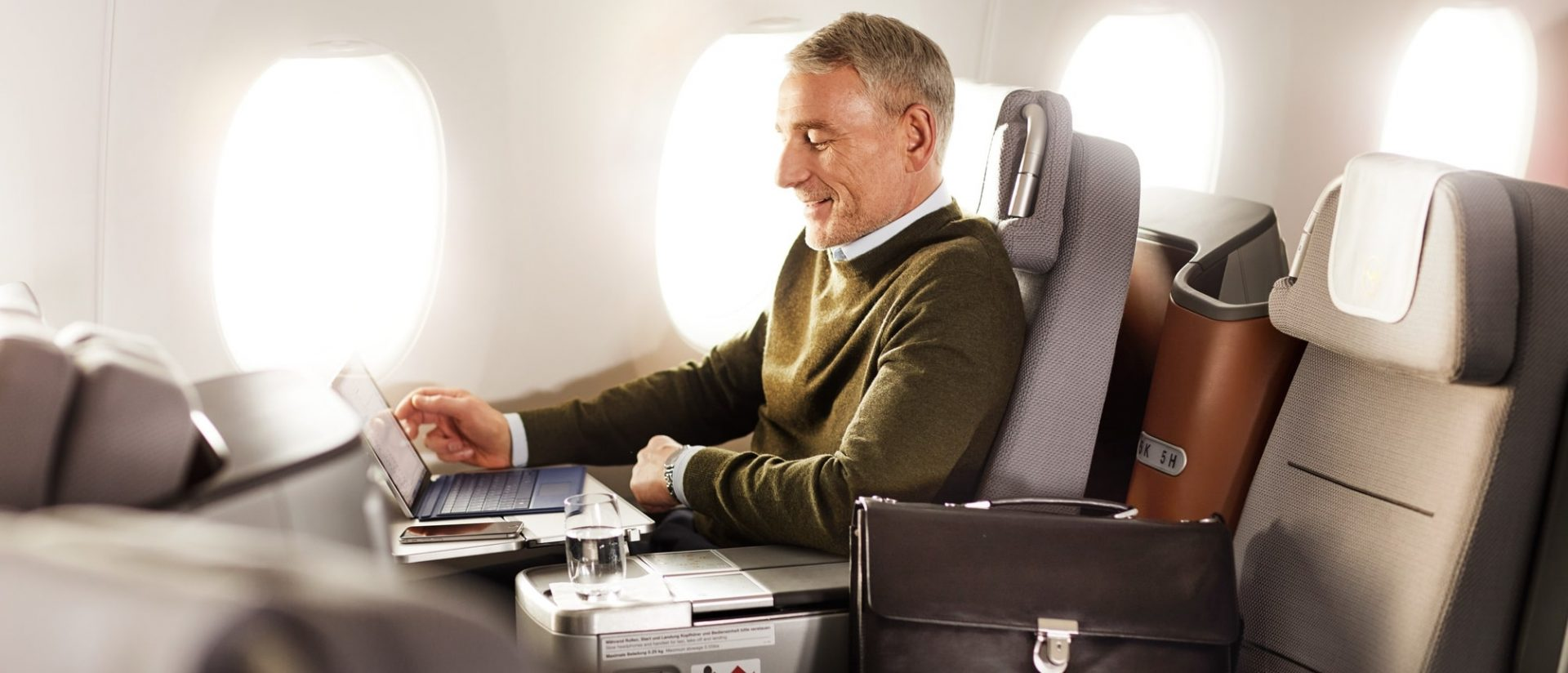Tel Aviv to South America in Business Class with Lufthansa starting from €1,617/$1,755
