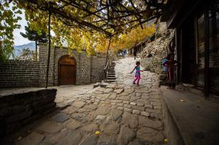Route up to Baltit Fort