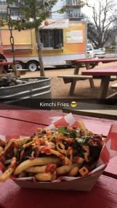Kimchi Fries at Chi'lantro