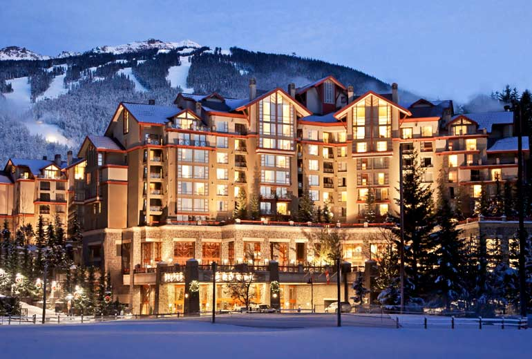 Westin Resort and Hotel in Whistler, BC