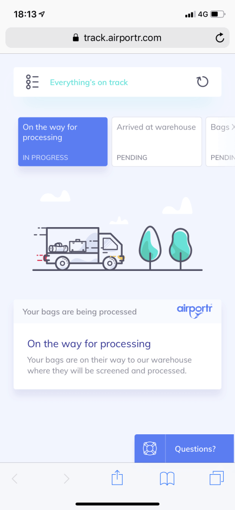 AirPortr - Bags Packed Up