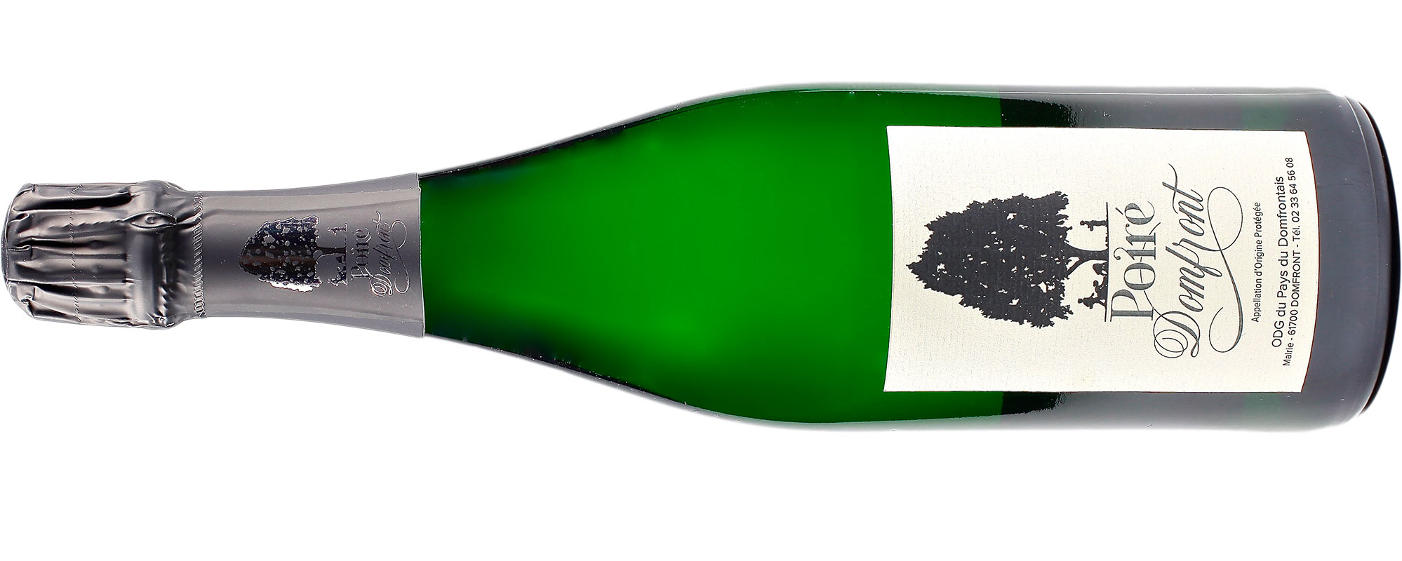 bottle of Poiré Domfront AOP