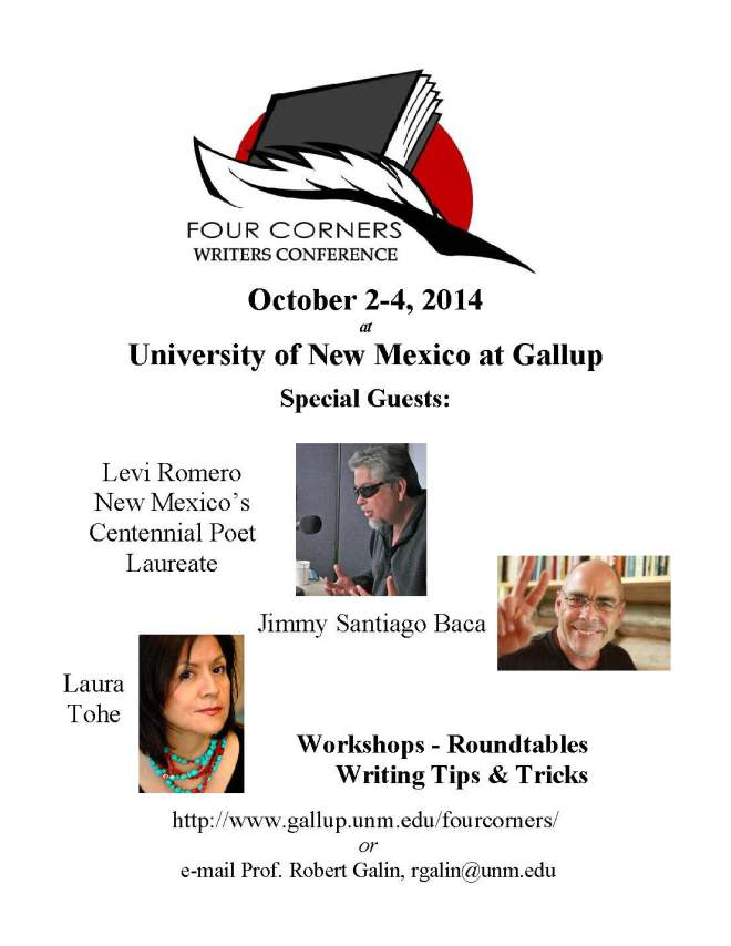 Four Corners Writers Conference Poster public