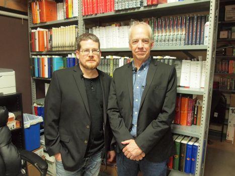 PP Alex Grecian, Dan Fesperman