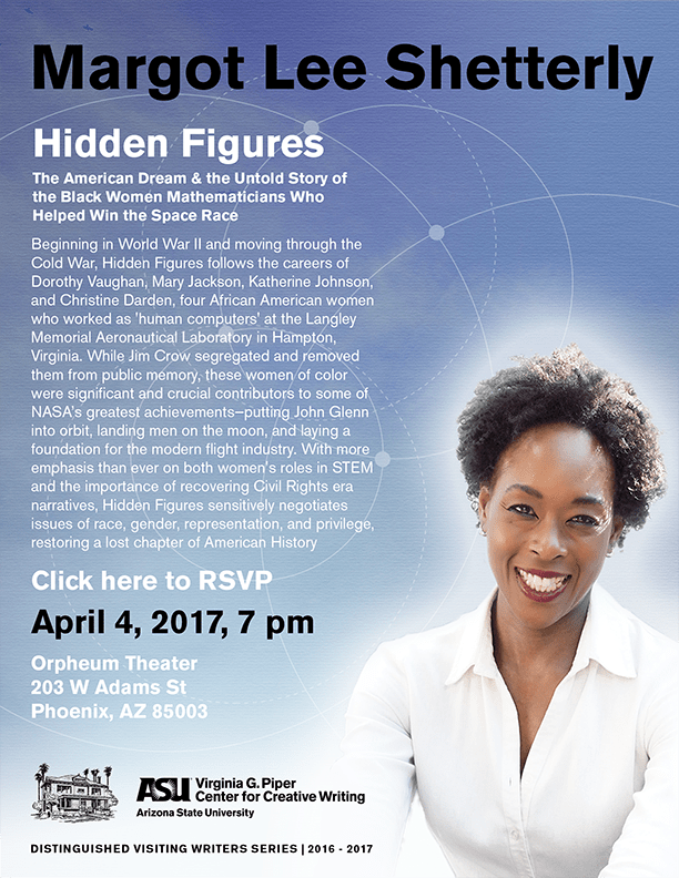 Hidden Figures flyer