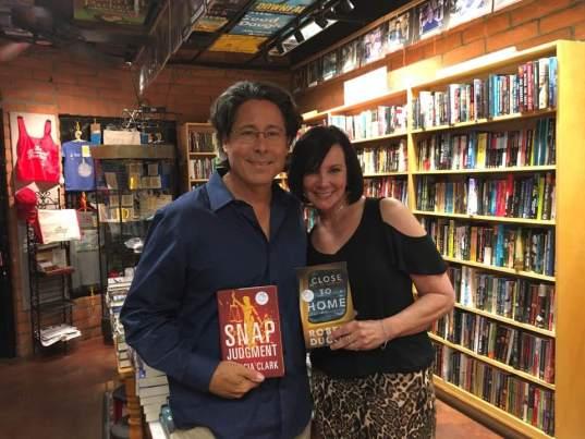 Robert Dugoni and Marcia Clark