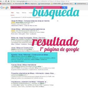 Ejemplo de posicionamiento web en Bilbao de Eginetxe hecho por Poison Estudio