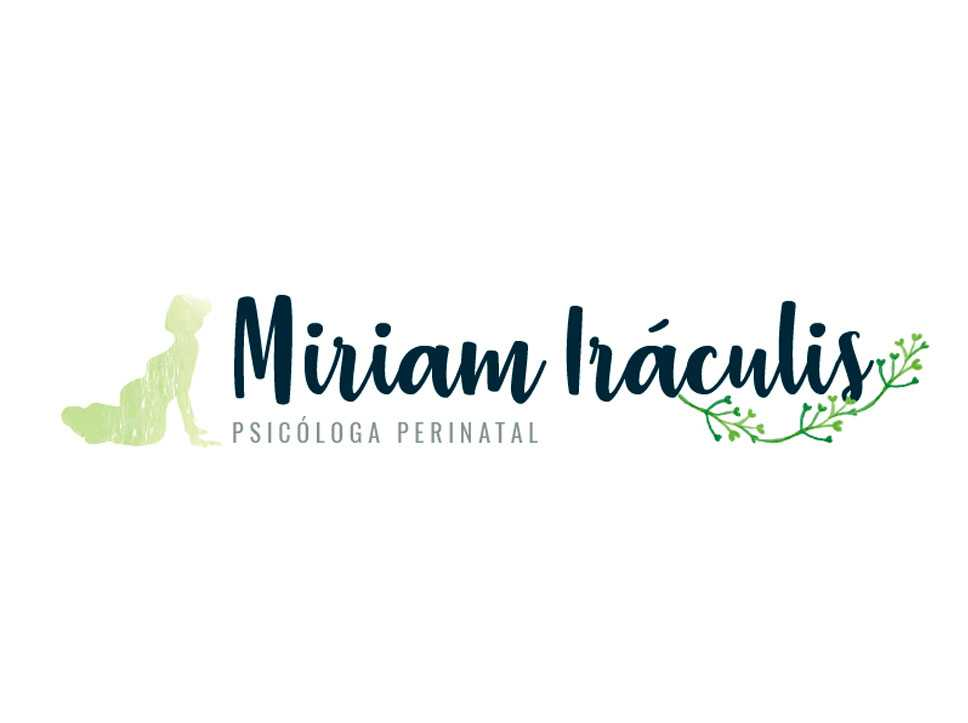 Diseño logotipo Miriam Iráculis por Poison Estudio