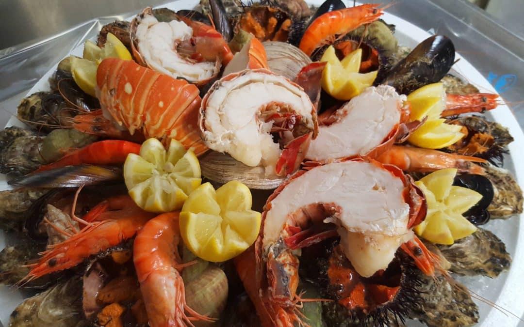 degustez nos plateaux de fruits de mer