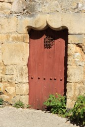 Old door/side entrance to Abbey