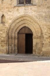 Romanesque arched doorway