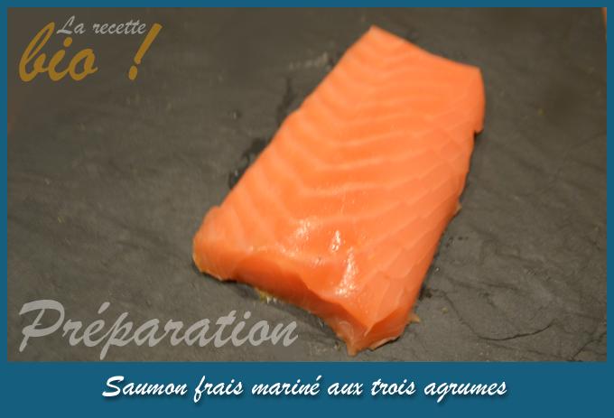 La recette bio_saumon frais mariné_PREPARATION