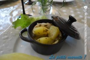 Marmite de flétan et crevette au vin blanc2