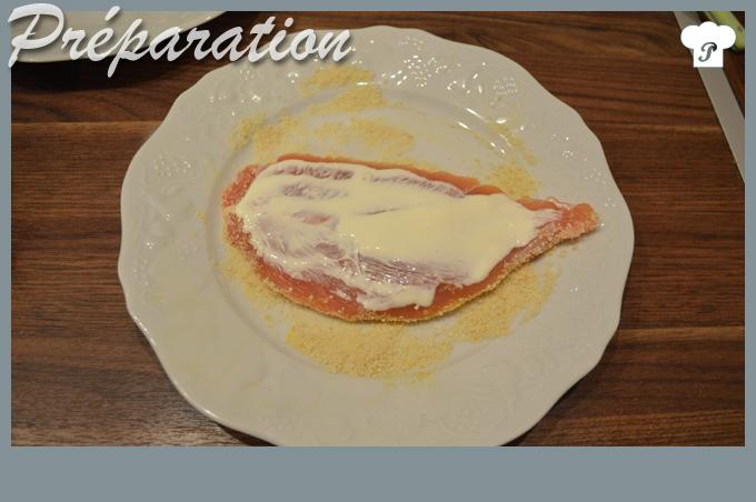 PREPARATION_3_Escalope de dinde pannée au gruyère et au citron