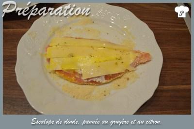 PREPARATION_5_Escalope de dinde pannée au gruyère et au citron