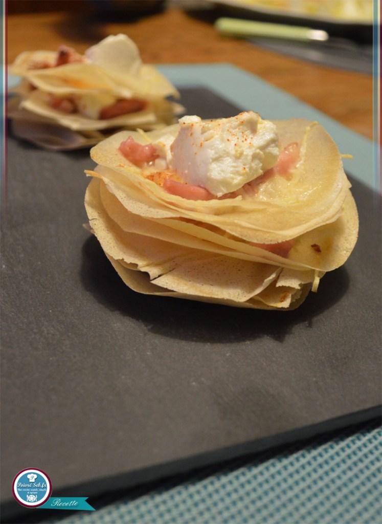 Mille_feuille_pizza_chèvre doux_et_miel_4
