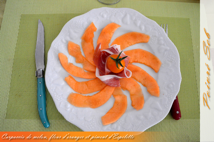 Carpaccio de Melon_Piment__2