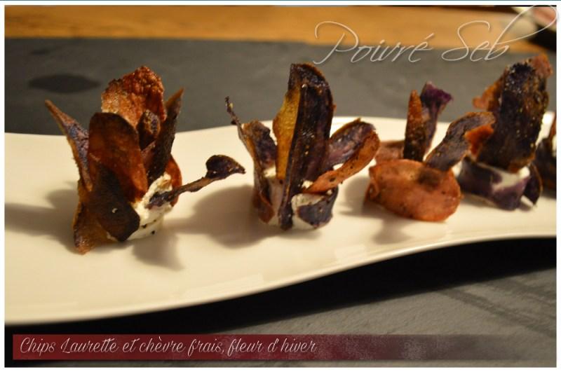 Chips Laurette chevre frais Fleur hiver 1