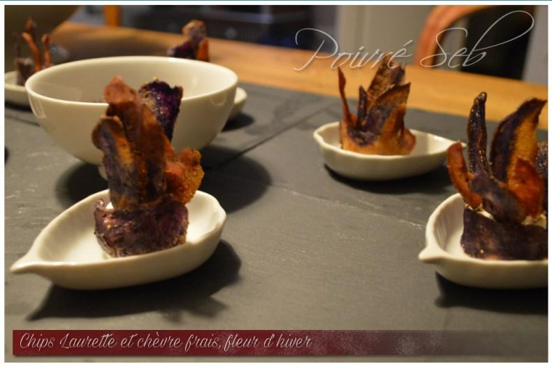 Chips Laurette chevre frais Fleur hiver 4