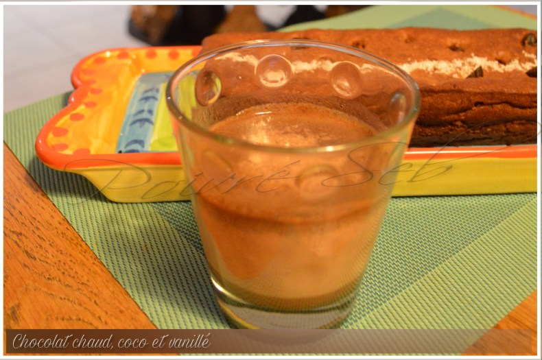 Chocolat chaud coco vanillé