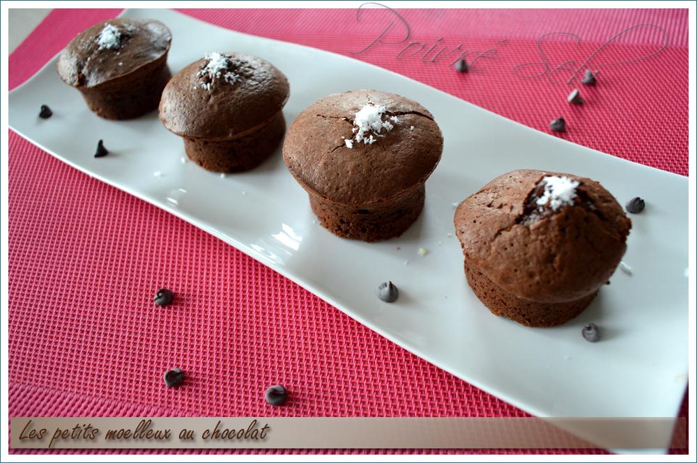 Les petits moelleux au chocolat 1
