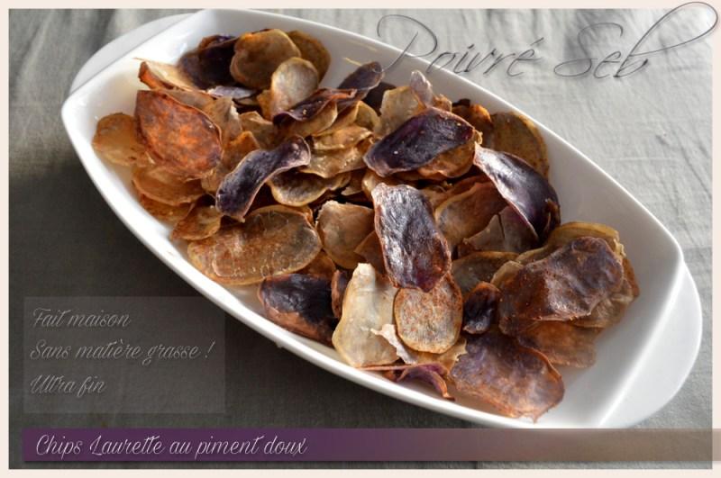 Chips Laurette au piment doux