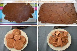 La tartelette au citron, mangue et chocolat-pate sablée chocolat